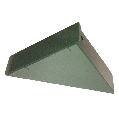 三角ケース 金属型 三角型(13cm×18cm×4.5cm)200g